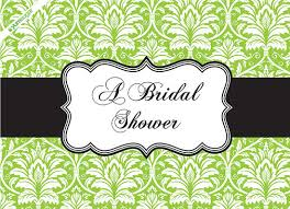 wedding shower green bridal shower invitations wedcardshare