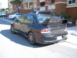 evo mitsubishi black file black lancer evolution mr rear jpg wikimedia commons