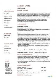 bartending resume template bartender resumes templates bartender resume hospitality exle