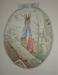 Beatrix Potter Nursery Decor Classic Rabbit Beatrix Potter Nursery Beatrice Potter