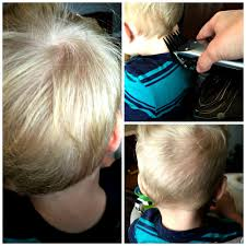 hairstyle to distract feom neck diy toddler boy haircut jules co