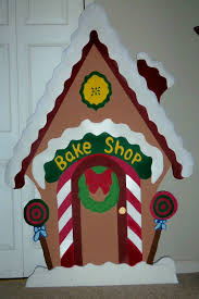 Outdoor Christmas Yard Decorations by Santa U0027s Bake Shop Holiday Yard Art Decoration Piece 5 U0027 90 00