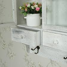 Bathroom Wall Shelving Units by Wall Mounted Shelving Unit Shabby French Chic Bathroom Kitchen