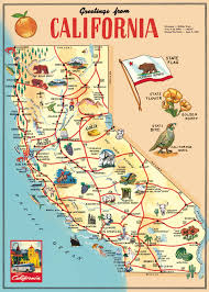 cavallini wrap cavallini and co wrapping paper decorative wrap california map