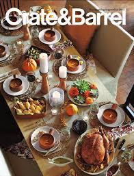 crate barrel 2013 thanksgiving catalog chris lanier