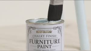 how to use rust oleum chalky finish furniture paint youtube