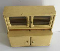 dolls house kitchen furniture vintage german wood doll house kitchen sink c 1950 s early 60 s st