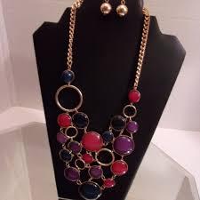 fabulous earrings fabulous jewelry nwt bold necklace earrings retail 40 j poshmark