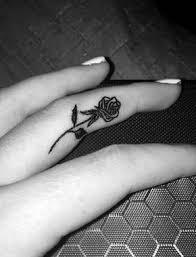 Tattoos Ideas For Hands Best 25 Finger Tattoos Ideas On Pinterest Simple Hand Henna
