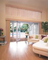 window treatments for sliding glass doors image of window
