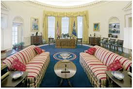 Oval Office White House The Oval Office Gets A Makeover