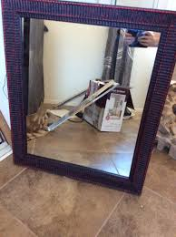 Nifty Mirror by What A Difference Some Paint Makes I Pick Up Pennies