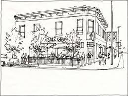 street revitalization with quick sketches jim leggitt drawing