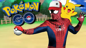 pokemon go in real life with spiderman fun real life superhero