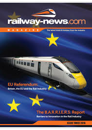 railway news magazine issue 3 2016 by railway news issuu