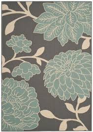 Teal And Gray Area Rug by Rug Ham552ad Hampton Area Rugs By Safavieh