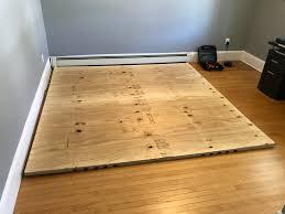 Laminate Flooring Layers Apartment Home Gym Album On Imgur