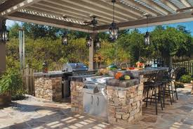 simple outdoor kitchen subway tile backsplash awesome best kitchen
