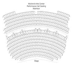 Concert Hall Floor Plan Belushi Performance Hall
