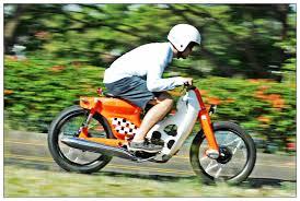 my 1st honda streetcub70 my motorcycle