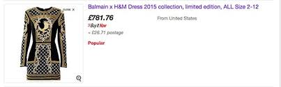 ugg boots sale ebay uk h m x balmain clothes on ebay at the retail price a