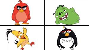angry birds coloring pages for learning colors angry birds movie