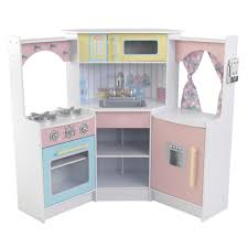 Kidkraft Kitchens Deluxe Corner Play Kitchen