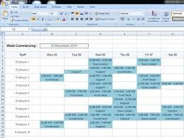 Workforce Planning Template Excel Free Free Rota Template Rotacloud