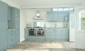 wren kitchens pacrylic blue quartz gloss kitchen image 1 sydney