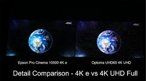 compare projectors for home theater optoma uhd65 home theater projector comparison epson pro cinema