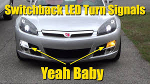 saturn sky trunk i installed switchback led turn signal lights to my saturn sky