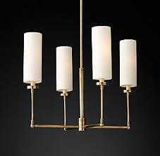 Chandelier Antique Brass Chandelier Collections Rh