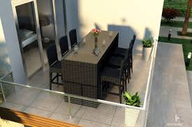 7 Piece Wicker Patio Dining Set - harmonia living urbana outdoor 7 piece bar set wickercentral com