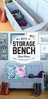 Build Outdoor Storage Bench Plans by Diy Outdoor Storage Bench Ana White Inspired Tamara U0027s Joy