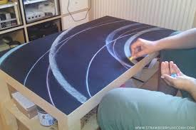 lack coffee table hack how to make a fun chalkboard from a lack coffee table ikea
