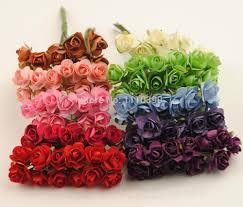 2 5cm artificial foam roses flower diy craft floral foam flower