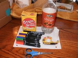 vinegar and baking soda powered rocket make