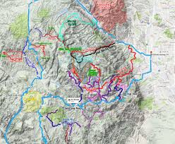 Colorado Springs Trail Map by 4x4 Trail Report Mount Rosa And Mount Baldy Dan Nix