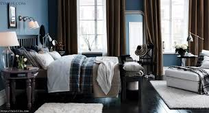 Light Blue Bedroom Curtains Bedroom Picture Of Blue And Black Bedroom Decoration Using