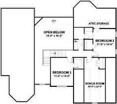 His And Her Bathroom Floor Plans 3 Bedroom 3 Bath Traditional House Plan Alp 024g Allplans Com