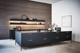 modern kitchen black cabinets cesar black unit kitchen cesar nyc kitchens high end