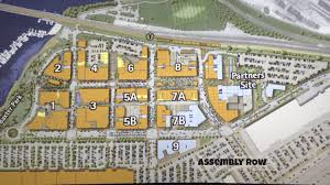 assembly row map the bates estate report hub commercial niche is the