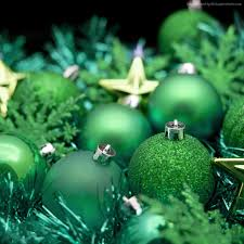 wallpaper christmas new year balls decorations star green