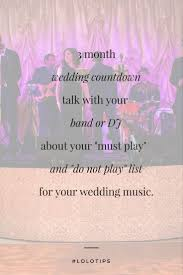wedding band playlist wedding wedding countdown wedding countdown tips wedding
