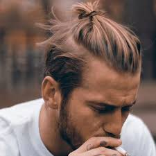 top knot mens hairstyles man bun hairstyle men s haircuts hairstyles 2018