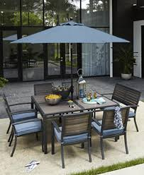 Outdoor Dining Room Furniture Closeout Harlough Outdoor Dining Collection Created For Macy U0027s