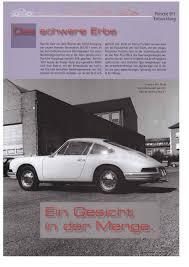 Porsche 901 Prototype Classic Motors Mag 01 2009 Deutsch