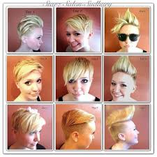 differnt styles to cut hair different ways to style a pixie cut hair nails pinterest