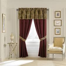 Burgundy Valances For Windows Window Treatments U0026 Area Rugs Sale Croscill