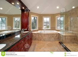 Marble Master Bathroom by Master Bath With Marble Tub Stock Images Image 11826784